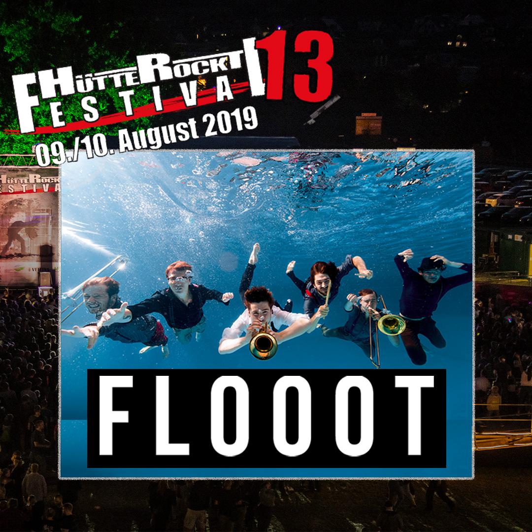 Flooot @ Huette Rockt Festival 2019